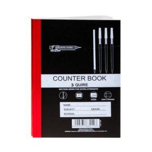 Counter Book (5 x A4)