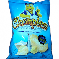 Chompkins Potato Chips ( 10 x 100g)