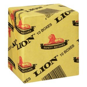Lion Matches (Box of 10 x 10)