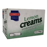 Lobels Lemon creams 12 x 150g