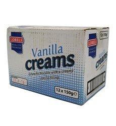 Lobels Vanilla creams 12 x 150g