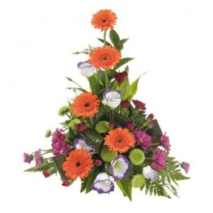 Asymmetrical Mixed Flower Arrangement