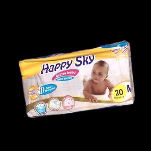 Happy Sky Baby Diapers Medium (25 PACK)