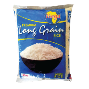 Mega Premium White Rice 2kg x 1-Single