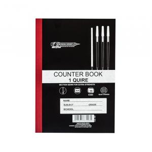 1 Quire Counter Book (5 x A4)