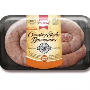 Colcom Country Style Boerewors 500G